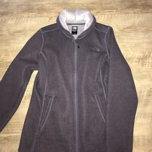 North face full zip jacket.